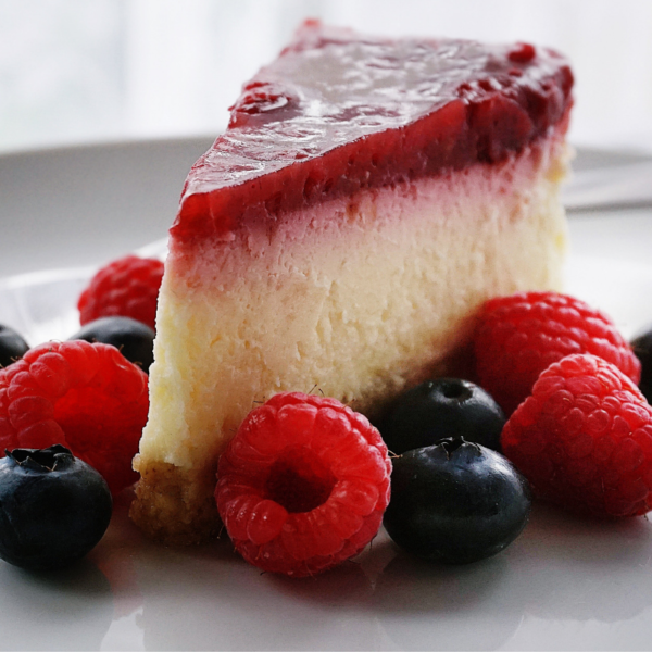 Cheesecake made with swerve
