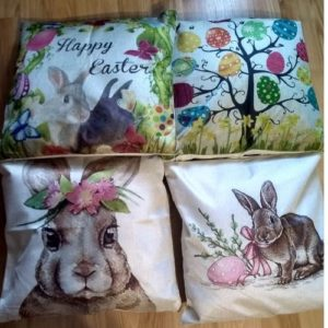 Adorable Easter Themed Cushions